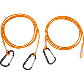 Swimrunners Hook-Cord Ceinture de traction 3m, neon orange